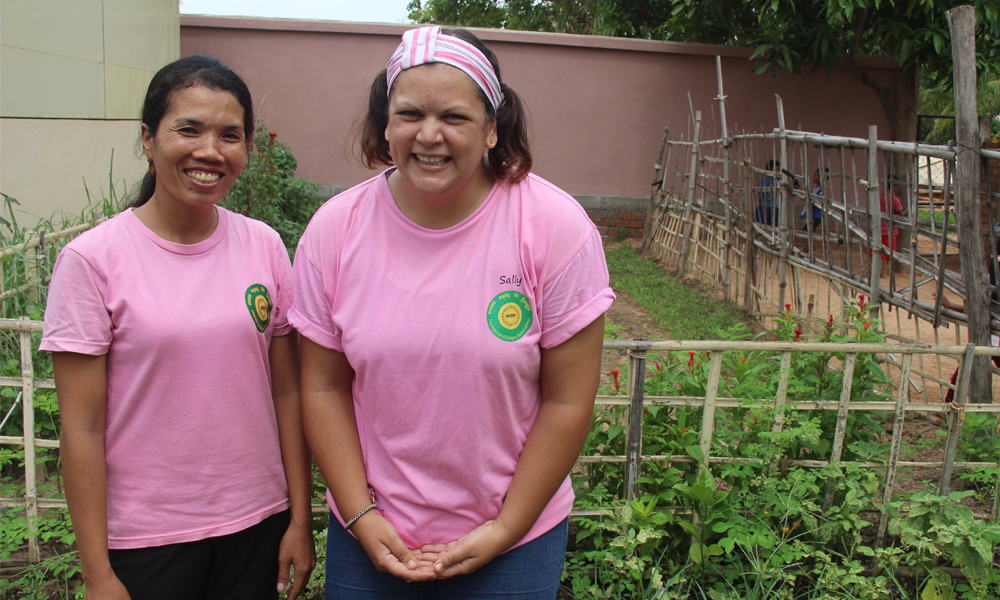 Empowering Cambodian Women out of Poverty